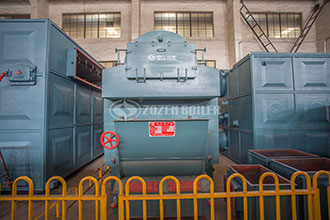 hot water boiler basuki for gas drying