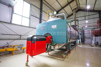 vertical steam boiler, hot water boiler