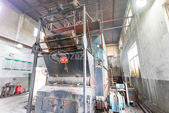hospital natural gas steam water boiler supplier