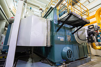 china high-tech 700kw hot water boiler with copper …