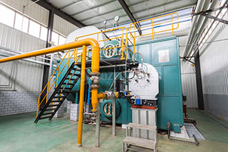 gas fired 1 ton per hour steam boiler