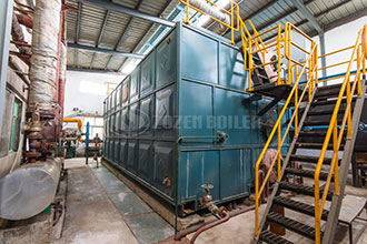 industrial oil or gas steam boiler supplier