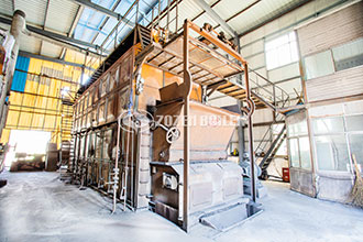 gas fired, steam & hot water vertical boilers