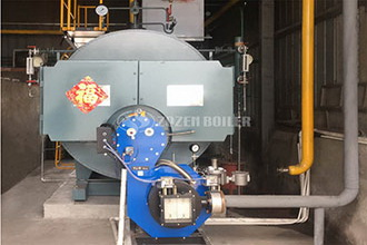 vertical new pattern gas hot water boilers